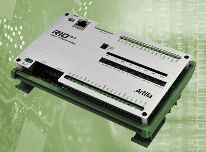 Digital Modbus module RIO-2010 from Acceed