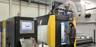 Blue Ray Sahos Dynamic FC5000 5-axis machining centre