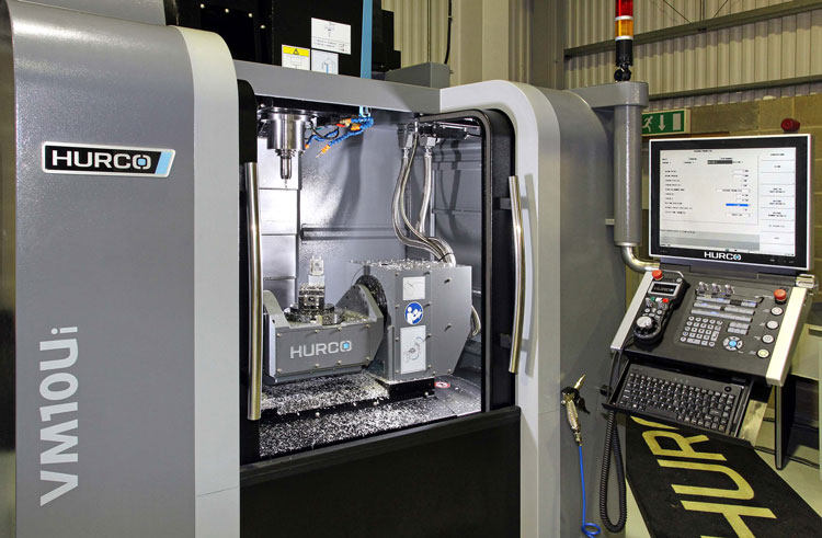 Hurco to showcase VM10Ui 5-axis machining centre at Southern