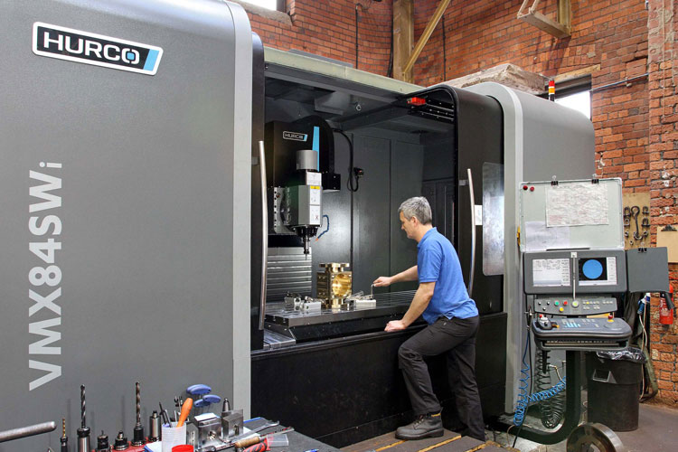 Subcontractor chooses big-capacity route to 5-axis machining