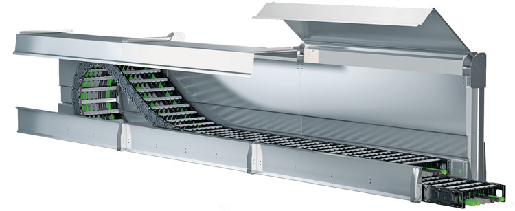 Metool roof channel system