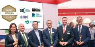 Cama award at Interpack 2017