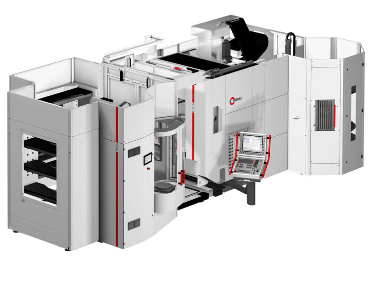 Hermle launched low cost automated workpiece handling system