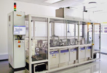 Turbex ultrasonic cleaning line